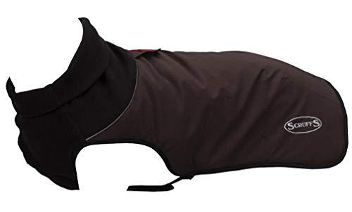 Scruffs Thermische Gewatteerde Hond Jas, 45 cm Chocolade