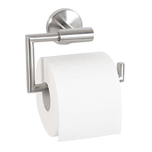 bremermann® Bad-Serie PIAZZA – Toilettenpapierhalter aus mattem Edelstahl