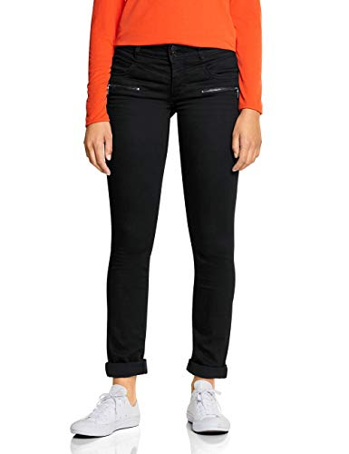 Street One Damen 372562 Jane Casual Fit Slim Jeans, Schwarz (Black Soft wash 11546), 27W / 32L