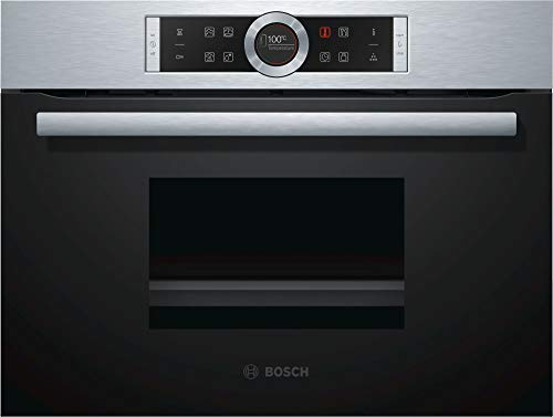 Bosch CDG634BS1 Serie 8, elektrische/stoomreiniger 59,5 cm, 38 L, stoomkoker