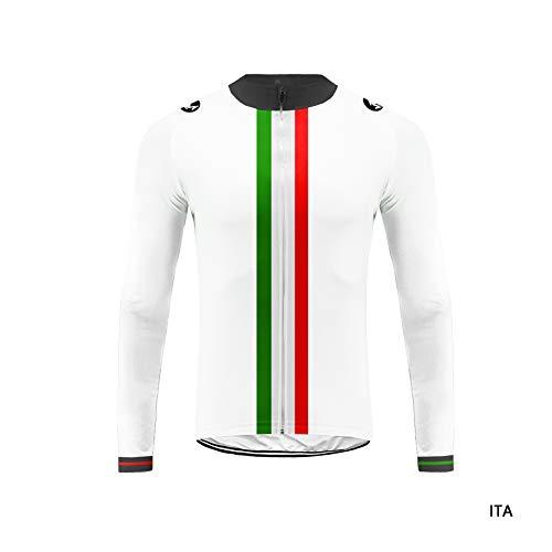 Uglyfrog HDWLJT01 Radsport Rennrad Trikots Lange Ärmel Sport & Freizeit Shirts Radkleidung Winter with Fleece