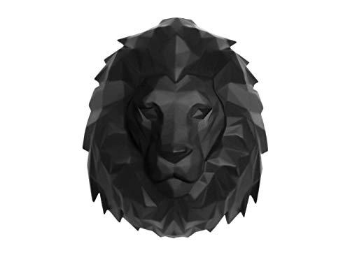 Present Time - Tête de Lion Noir Origami
