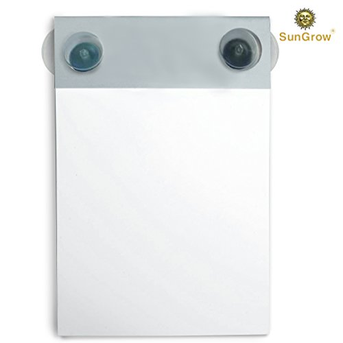 Waterproof Notepad, Mountable To-do Shower Notebook with Recyclable Paper, Erasable Writing Slate Works with any pen or pencil - Fun pad for Doodling, Drawing in Shower, Suction Cups Included