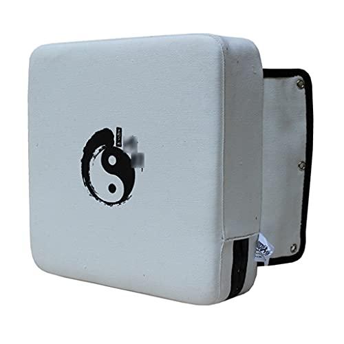 HCKLYTN Boxeo Bolsa Bolsa Lienzo Pared Sólido Target Pegado de Pared Objetivo Conveniente sin ocupar Espacio ll (Color : White, Size : 30 * 30 * 9CM)