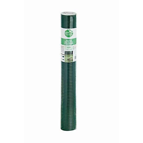 Catral 55010014 - Malla cuadrada galvanizada, 50 x 1000 x 4 cm, color verde