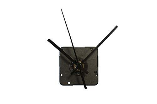 TFA Dostmann Analoges Uhrwerk mit zwei Uhrzeigersets, 60.3024.01, leises Sweep-Uhrwerk, zum Basteln/Selbstgestalten, schwarz