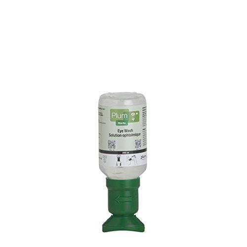 Plum Plus Rinse 45991-2 Sterile Saline Eyewash Bottle, 200 mL, 6.5