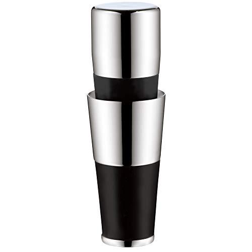 WMF Vino 2in1 Weinausgießer mit Flaschenverschluss, 2,4 cm, Ausgießer, Cromargan Edelstahl, Silikon, für alle Weinflaschen