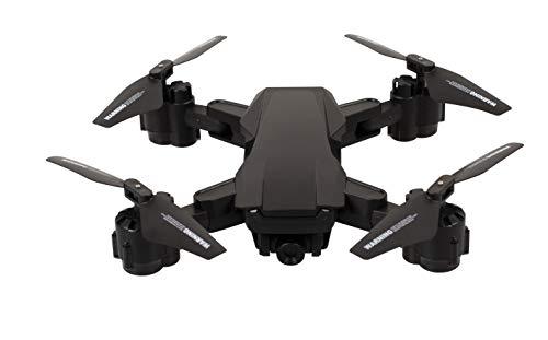 Maginon Quadkopter QC 70 SE WiFi, Drohne mit WiFi-Bildübertragung - inklusive HD-Kamera, optimal für Anfänger geeignet durch Headless Flugmodus, eingebautes 6-Achsen Gyrokop für stabile Fluglage…