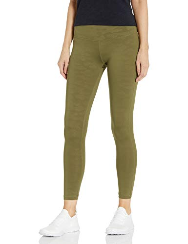 V.I.P. JEANS Performance Leggings for Women high Waist Yoga Pants Leather Look, Classic Camo, X-Large