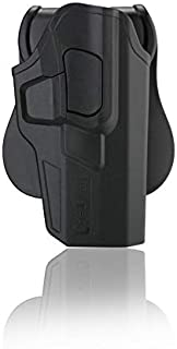 CYTAC Level II Tactical Security Holster | Fits Glock 17 Gen 5 | Glock 17/22 / 31 (Gen 1,2,3,4) | Includes Free Mag Pouch | R-Defender G3 Series