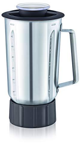 Moulinex xf636db1Standmixer Edelstahl–Zubehör für Küchenmaschine Masterchef Gourmet–Kapazität 1,5Liter–Stoßfest Thermische