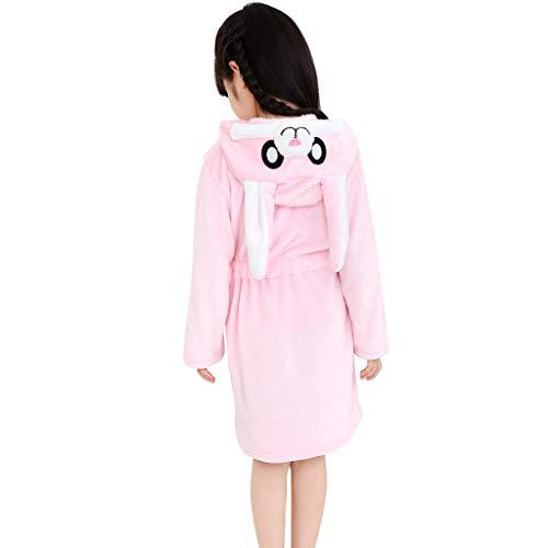 PAUBOLI Toddler Girls Fleece Hoodie Jacket Full Zip Coats 1-7T