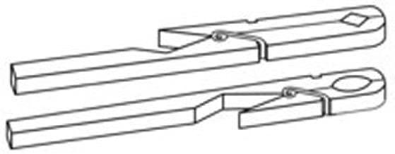 neolab S de 2416de pinzas de madera para tubos de ensayo, 190mm de largo