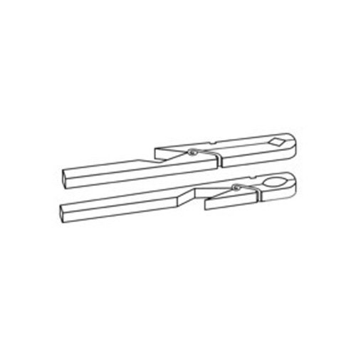 neolab S de 2415de pinzas de madera para tubos de ensayo, 175mm de largo