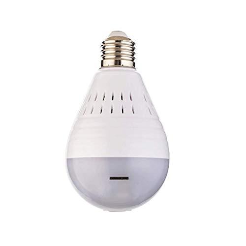 Bewakingscamera HD LED-licht 960 P draadloze beveiliging voor thuis WiFi CCTV Fisheye lamp IP-camera 360 graden veiligheid voor thuis anti-diefstal bewaking in huis