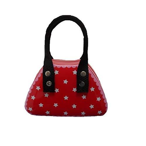 L'Argent Grue Company Boîtes Sc110307 Petits sacs à main Rouge étoiles