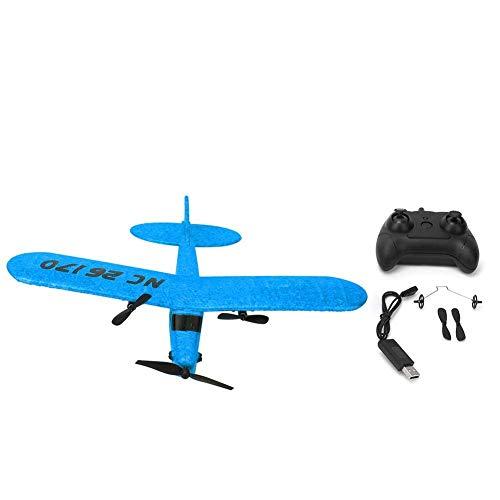 Fabater Avión RC, FX-803 2.4G Avión eléctrico de ala Fija Planeador Avión de Control Remoto Avión RC, Gran Juguete de Regalo para Principiantes, Adultos o niños avanzados(Blue)