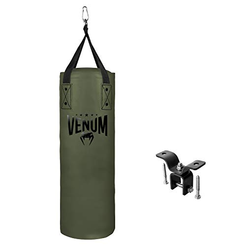 VENUM Origins Punching Bag-Khaki/Black (Ceiling Mount Included), Sacchi duri da Boxe Unisex Adulto, Kaki/Nero, 70lb