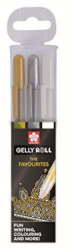 Sakura Gelly Roll 3 gelpennen FAVOURITES