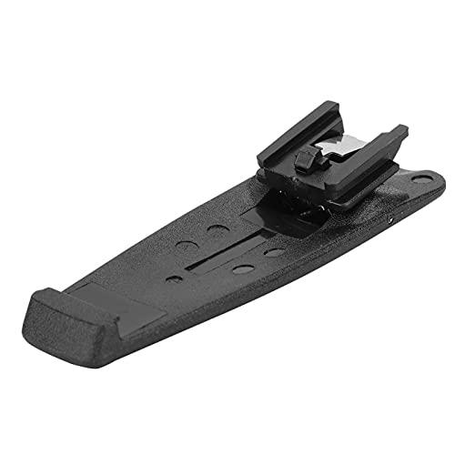 Shipenophy Práctico y Ligero Walkie Back Clip Exquisito Clip de cinturón para la Cintura de Talkie