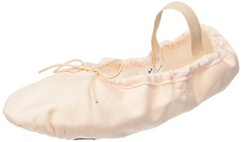 Sansha 5C Tutu-Split Tanzschuhe Halbspitze für Erwachsene aus Stoff, Kinder, 10-05100050, Rose, 36 M