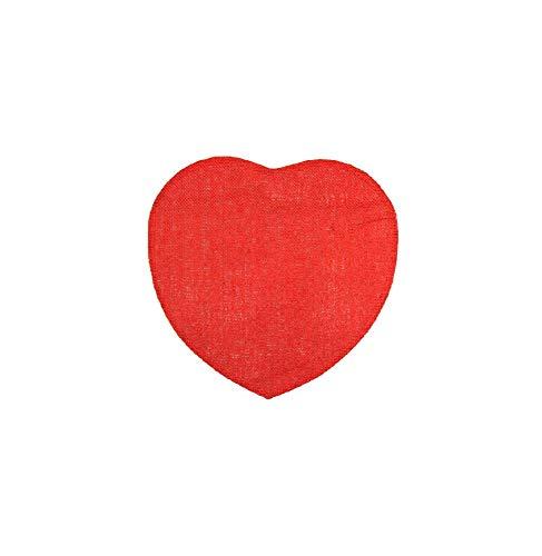 couleur montagne set de table (0)38cm fibre papier coeur rouge