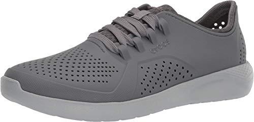 Tênis Literide Pacer, Crocs, Masculino, Charcoal/Light Grey, 44