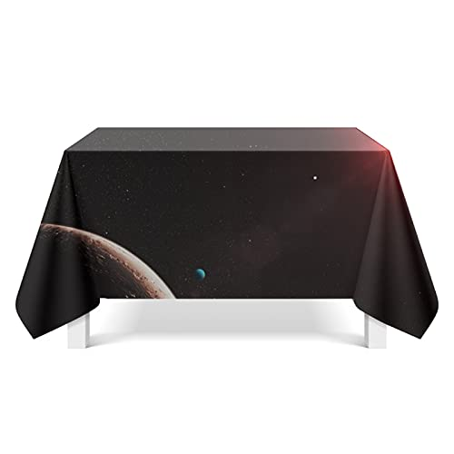DSman Table Cover Protector for Table/Desk Table Pads Cosmic starry art