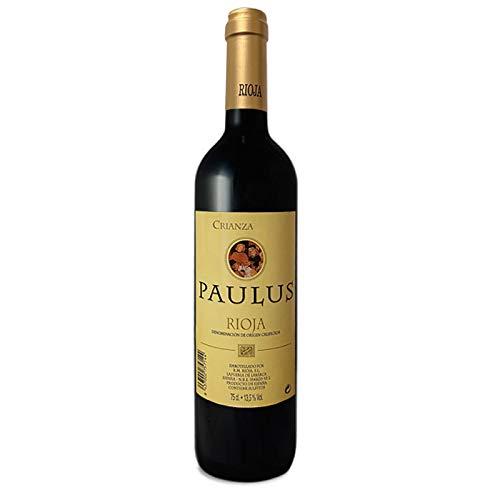 Paulus Vino Tinto Crianza - D.O.Ca Rioja 1 Botellas 750 ml