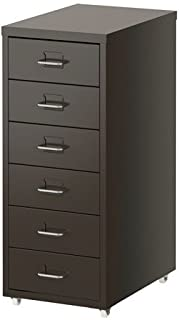 Ikea Helmer Drawer Unit on Casters (Gray)