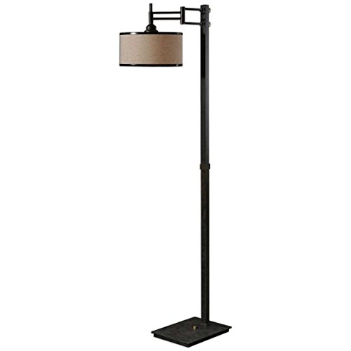 Uttermost 28587-1 Prescott Metal Floor Lamp