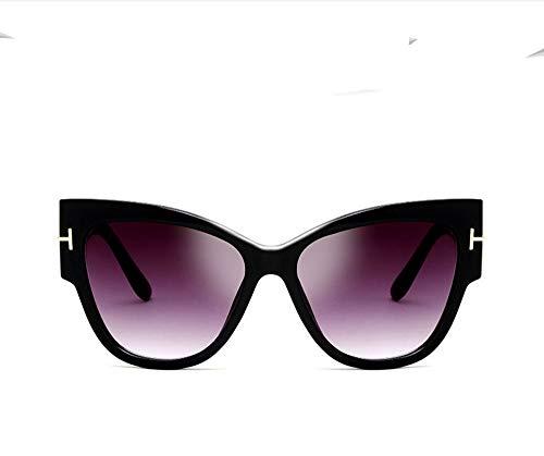 Zonnebril Hoge Kwaliteit Resin Fashion Groot Frame Zonnebril Frame UV-Bestendig Retro Cat Eye Zonnebril Geschikt Voor Straat Fotograferen (Verschillende Stijlen Om Uit Te Kiezen),B style