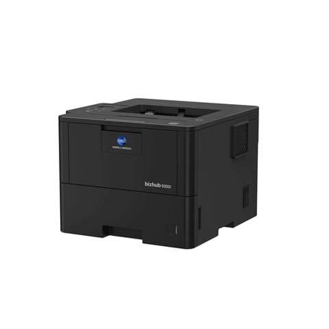 KONICA MINOLTA BIZHUB 5000i Monochrom Laserdrucker 50 ppm