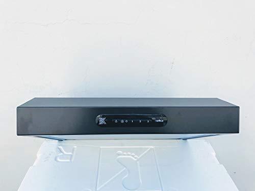 Campana bajera Elica, 50 cm de ancho, tipo filtrante, color antracita, modelo Krea Lux AN/F50