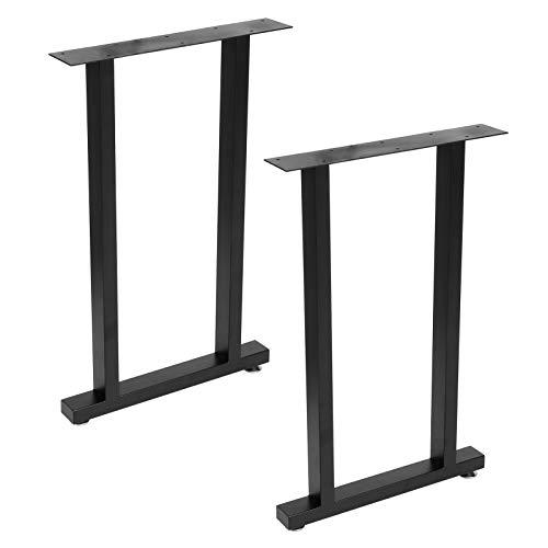 Cocoarm Gambe per tavoli Runner per tavoli in Design Industriale Piedini per tavoli Parti di tavoli in Ferro Telaio per tavoli Set di basi per tavoli Accessori per mobili per Tavolo(45 x 8 x 71 cm)