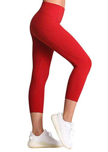 FITTIN Women's Workout Capris with …