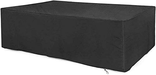 Pillowcase Garden Furniture Covers 123x61x72cm, Furniture Covers for Moving, Patio Furniture Covers, Snow Dust Wind-Proof, Made Of 600D Heavy Duty Oxford Fabric