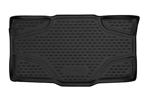 Element Alfombra de Maletero Antideslizante de Goma a Medida para Fiat Panda MK3 2012-2020
