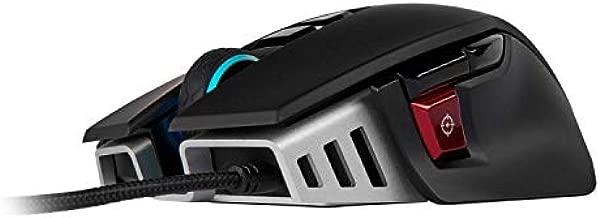 CORSAIR M65 ELITE RGB - FPS Gaming Mouse - 18,000 DPI Optical Sensor - Adjustable DPI Sniper Button - Tunable Weights - Black (Renewed)