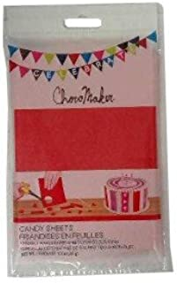 ChocoMaker Wafer Paper Sheets - Red - 12 pcs