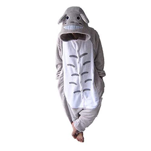Vecchi Unisex Adult Totoro Onesies Animal Cosplay Costume Halloween Xmas Pajamas