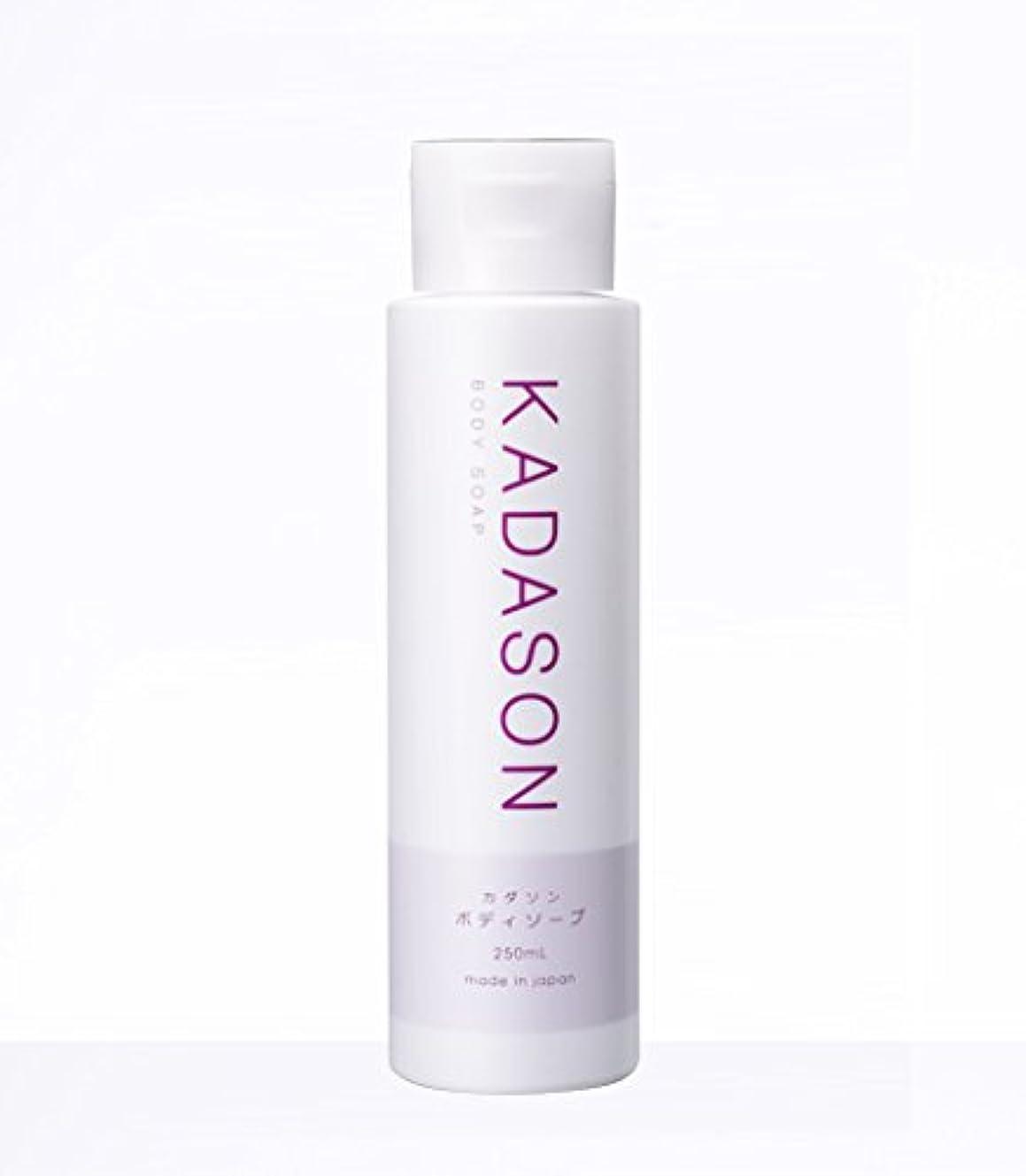 食事ステーキシンプルなKADASON(カダソン) ボディーソープ【脂漏性皮膚炎専門医が監修】身体のカユミを抑える洗顔もできるボディソープ