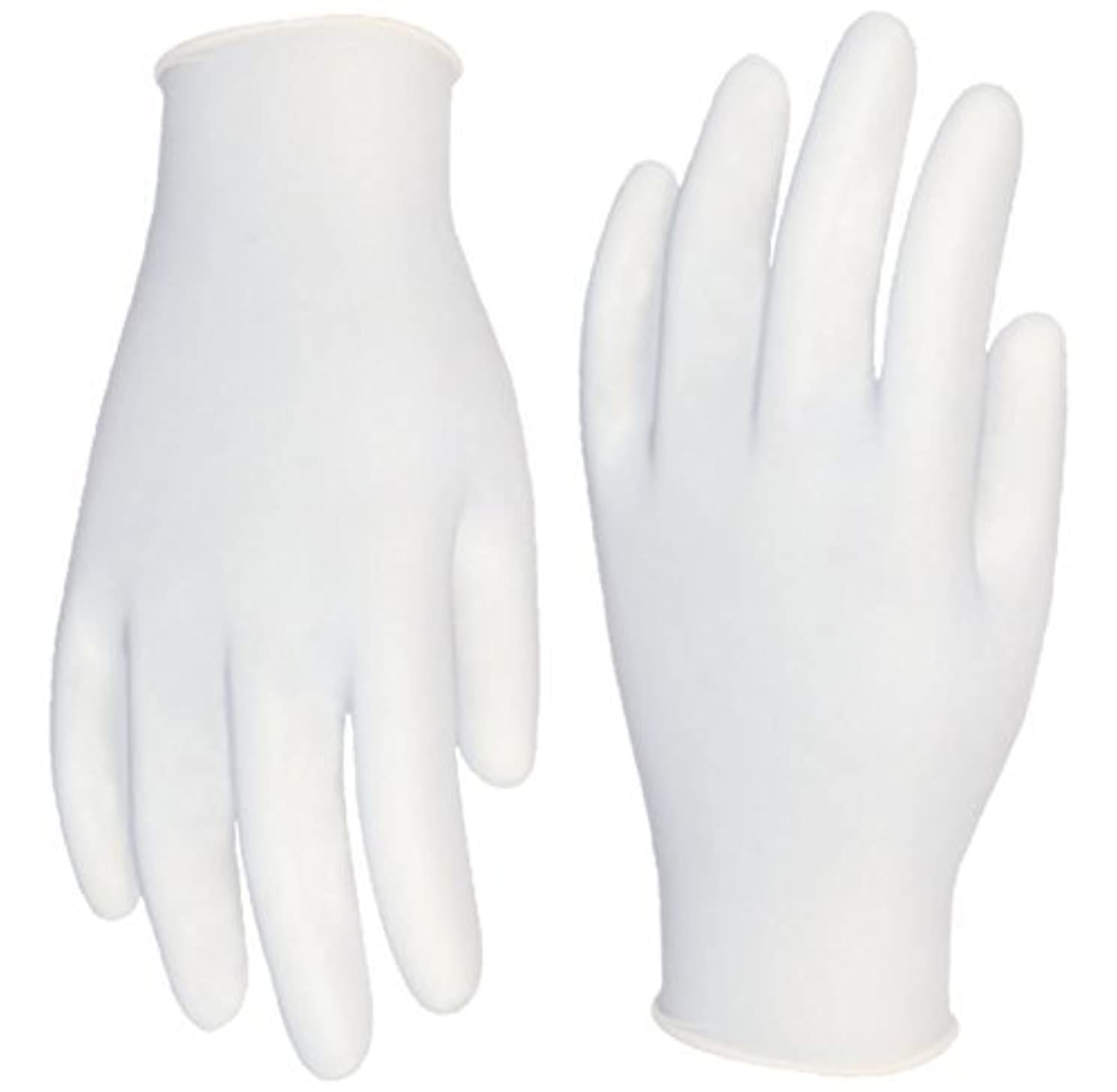屋内でカウンターパートが欲しいCordova Safety Products 4015XL Silver Industrial Grade Latex Powder Free Disposable Gloves, X-Large [並行輸入品]