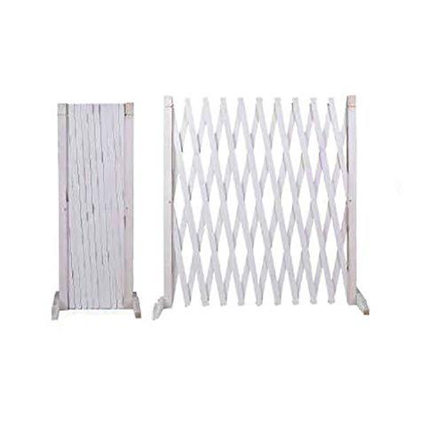 QBZS-YJ landelijk telescopische anticorrosieve houten hek hek tuin gecarboniseerd hout hek rotan frame interieur decoratieve outdoor hek