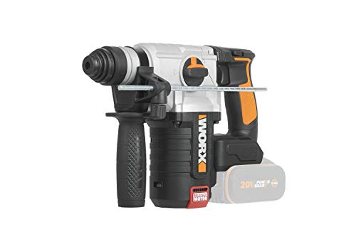 WORX 18V (20V Cordless Brushless 2.0KG Rotary Hammer-Body Only WX380.9 18 V (20 V max) Schnurloser bürstenloser Drehhammer 2,0 kg – nur Gehäuse