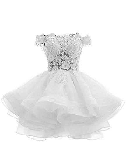 Top 10 Best Off the Shoulder Short White Wedding Dress Comparison