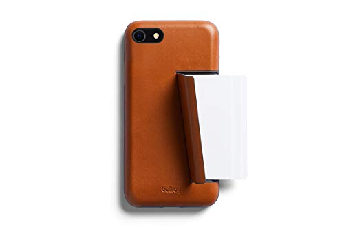 Bellroy Premium Slim Leather Phone Case with Card Holder for iPhone SE - 3 Card - Caramel