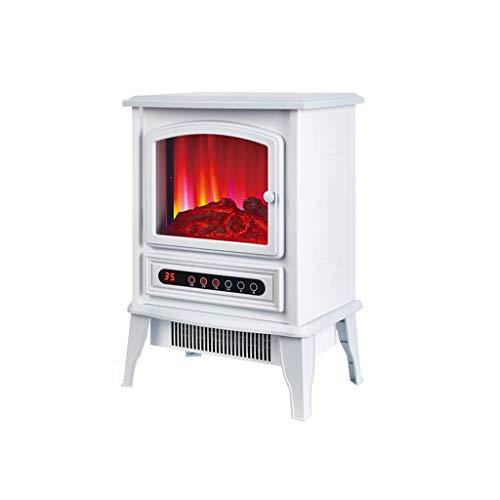 STOVES Poêle électrique pour cheminée 2000W, élément Chauffant en céramique PTC, Effet de Flamme LED réaliste, Protection Contre la surchauffe-Noir