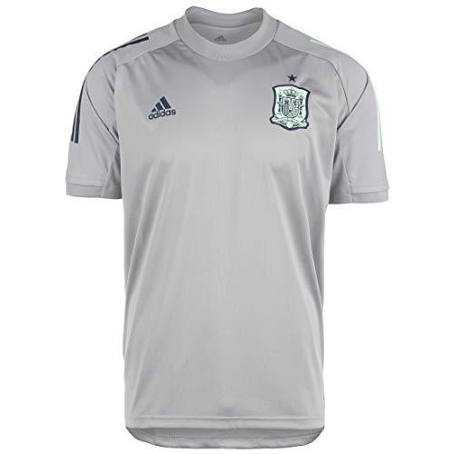 adidas Selección Española Temporada 2020/21 Camiseta Entrenamiento, Unisex, mgh Solid Grey, XL